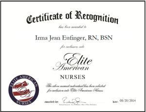 Irma Jean Eufinger