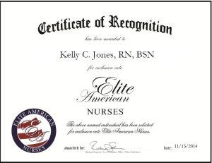 Kelly C. Jones, RN, BSN